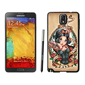 Disney Princess and the Frog Tattoo For Samsung Note 3 Black TPU Case Cover