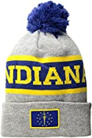 Cirque Mountain Apparel Indiana Flag Beanie, Multi, Unisex Adult