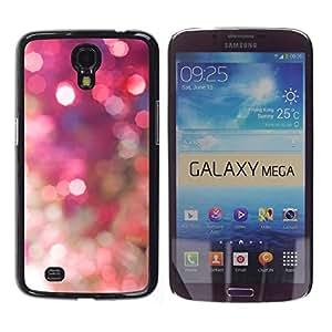 Be Good Phone Accessory // Dura Cáscara cubierta Protectora Caso Carcasa Funda de Protección para Samsung Galaxy Mega 6.3 I9200 SGH-i527 // Sparkle Sparkly Gold Disco