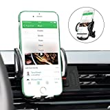 Car Phone Mount, Goodsail Universal Car Air Vent Mount Holder, 360 Degree Rotation with Quick Release Button for iPhone 7/ 7 Plus/ 6/ 6s, Samsung S8 S7 and other Smartphones and GPS devices- Black