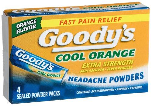 Goody Cool orange en poudre extra