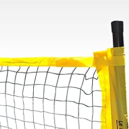 Le Petit Sports - Portable Badminton Net (20ft - 6.10m - Official Size) or Tennis Net (18ft Official Usta Tournament Size) or Pickle Ball Net or Volley Ball Net (20ft)