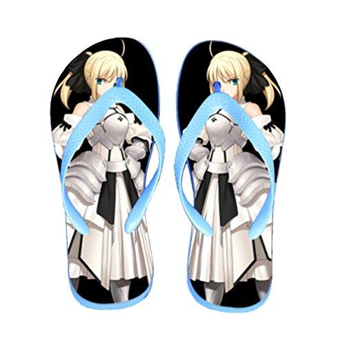 Bromeo Steins Gate Anime Unisex Flip Flops Chanclas 826