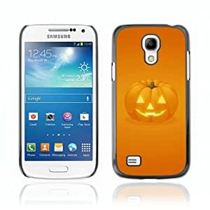 Designer Depo Hard Protection Case for Samsung Galaxy S4 Mini / Halloween Pumpkin