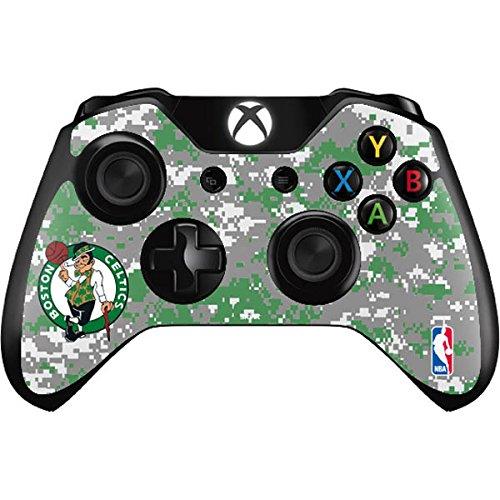 NBA Boston Celtics Xbox One Controller Skin - Boston Celtics Digi Camo Vinyl Decal Skin For Your Xbox One Controller by Skinit