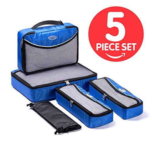 Soho Cube - SOHO Designs Travel Organizers/packing cubes with Laundry Bag 5 Pcs Set Galaxy Blue Buy Direct From The Manufacturer with Best Price !