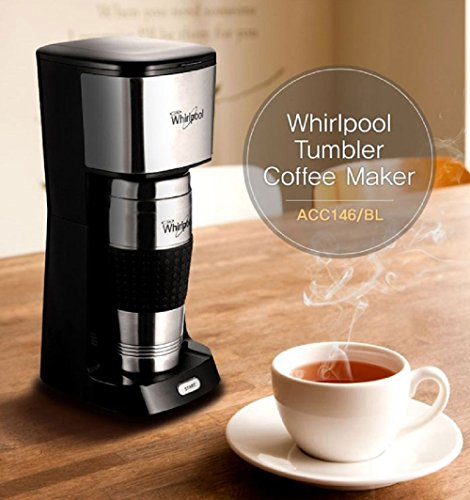 Whirlpool Coffee Maker Espresso Machine + Tumbler ACC146 450mL All-in-One - Coffee Pigs