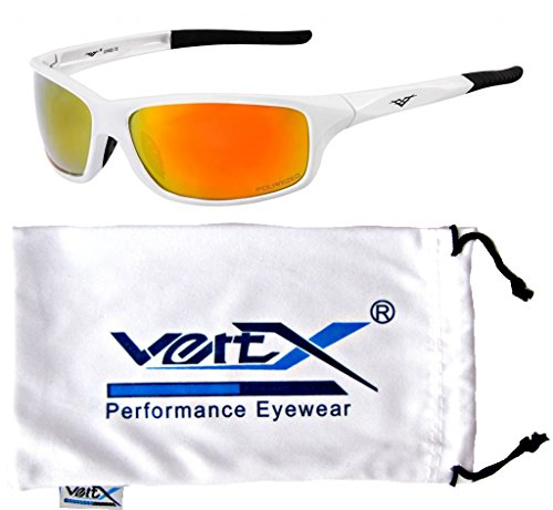 VertX Mens Polarized Sunglasses Sport Cycling Running w/free Microfiber Pouch