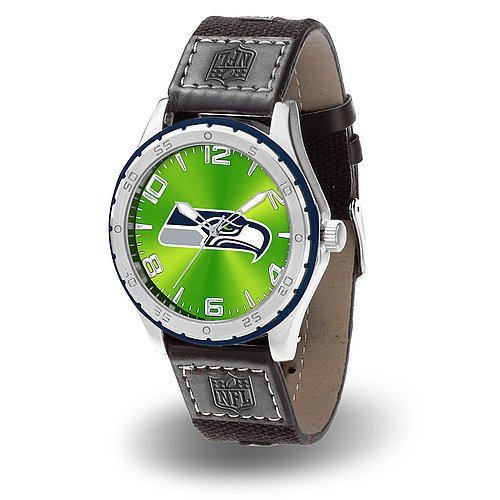 Seattle Seahawks Gambit Watch - Licensed NFL Football Merchandise (Seattle Gifts Online)