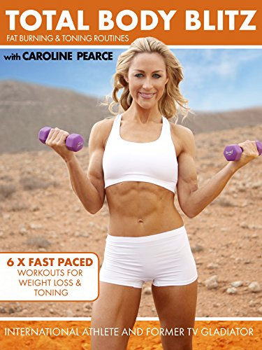 Total Body Blitz: 6 x 10 minute workouts for Weight Loss and Toning with Caroline Pearce (Best Cool Box Uk)