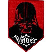 "Star Wars / Clone Wars Lucas Movie Iron on Patch - 3.5"" Darth Vader Face Crest"