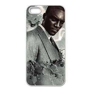 Akon Iphone 5 5S Cell Phone Case White DAVID-306954
