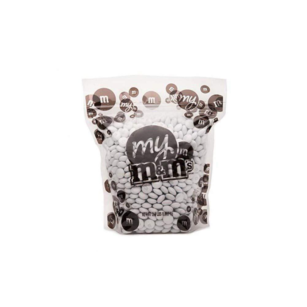 MY M&M'S White M&M'S Bulk Candy Bag (5lb) by MY M&M'S