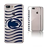 Keyscaper NCAA Penn State Nittany Lions KCLR7X-0PST-WAVE01 Apple iPhone Clear Case, iPhone 8 Plus/7 Plus/6 Plus, Clear