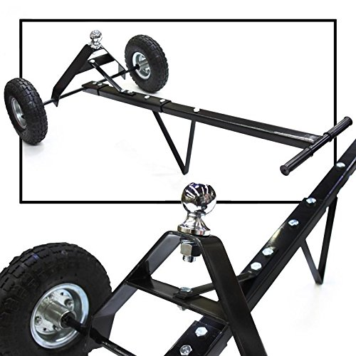 (New 600lb Heavy Duty Utility Trailer Mover Hitch Boat Jet Ski Camper Hand Dolly)