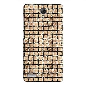 Cover It Up - Brown Black Break Mosaic Redmi Note 4G Hard Case