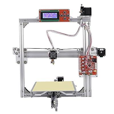 GOWE Easy Assemble Anet A2 3D Printer Kit High Precision Reprap Prusa i3 DIY 3D Printing Machine+ Hotbed+Filament+SD Card+LCD