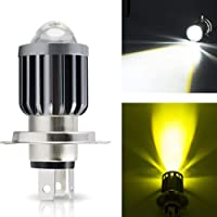 Mylujo LED Motorfiets Koplampen H4 H6 Extreem Heldere 1000Luminous Vervanging Koplamp Lamp Mistlampen