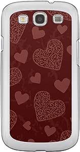 Loud Universe Samsung Galaxy S3 Love Valentine Printing Files A Valentine 12 Printed Transparent Edge Case - Brown