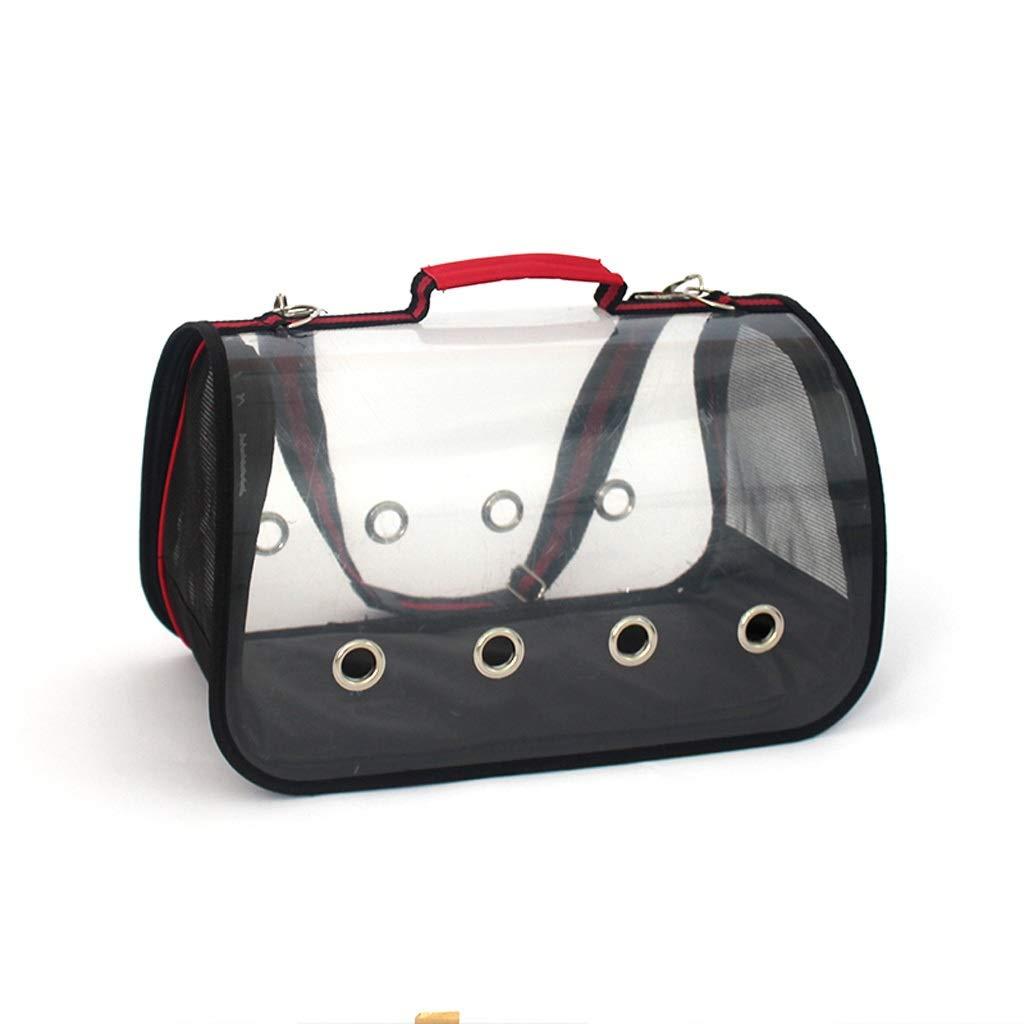Pet Supplies Portable Panoramic Window Space Pet Cabin Travel Bag Pgoldus Breathable Mesh Dog Cat Cage Handbag Red