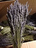 Dried Grosso Lavender bunches. Bunches come with 100-200 stemsngth ranging from 16-20 inches. Lavender was organically grown meaning not pesticides and fertilizers.