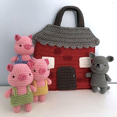 Three Little Pigs Crochet Playset ()