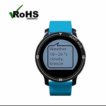 Reloj Deportivo con Podómetro con Notificación de WhatsApp /Contador de Calorías/Monitor de Sueño