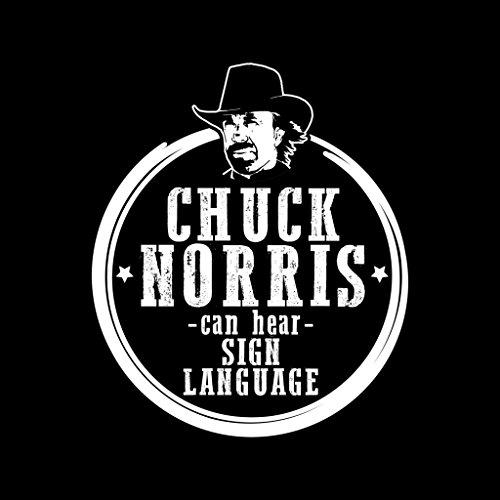Sweatshirt Sweatshirt Sweatshirt Hear 7 Norris Can Sign City City City Cloud Chuck Hooded Women's Black Language HRxXv4wXq