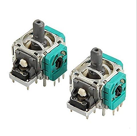 Vivi Audio® 2X 3D Controller Joystick Axis Analog Sensor Module For Xbox One Replacement - Sensor Controller