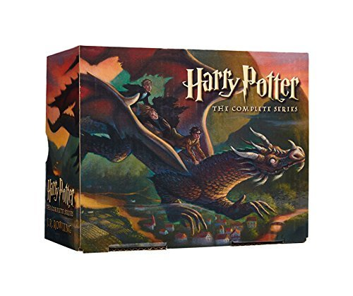 Harry Potter Series Full Set (Books 1-7): Harry Potter and The Sorcerer's Stone + Chamber of Secrets + Prisoner of Azkaban + Goblet of Fire + Order of the Phoenix + Half-Blood Prince + Deathly Hallows