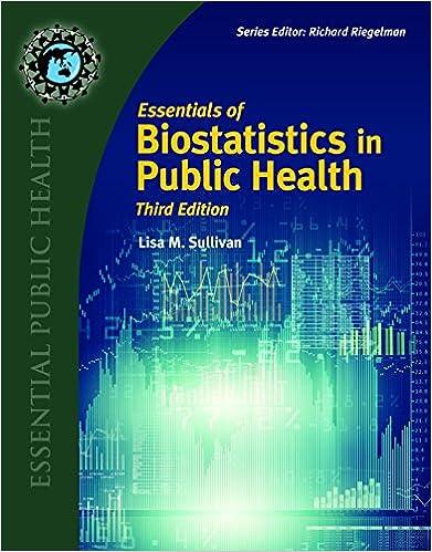 Essentials Of Biostatistics In Public Health Essential