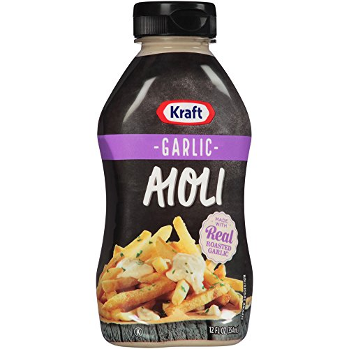 - Kraft Garlic Aioli (12 oz Bottle)