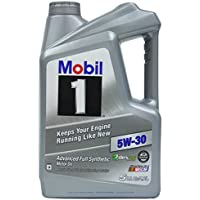 5-Quart Mobil 1 Synthetic Motor Oil in 5 different Weights