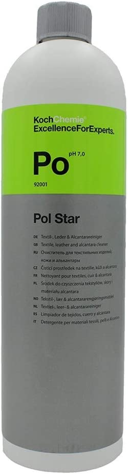 Koch Chemie Pol Star Textilreiniger 1L - Reinigung Alcantara Sofa