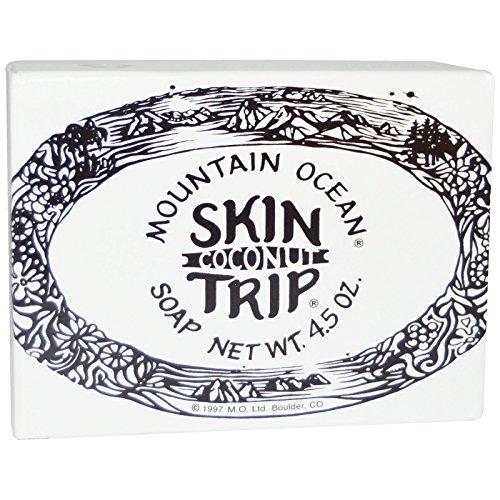 Mountain Ocean, Skin Trip, Coconut Soap, 4.5 oz Bar - 2pc