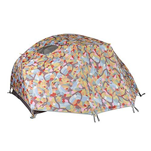 Poler Men's Two Man Birdy Tent, Birdprint, One (Birdy Bed)