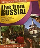 img - for Live from Russia! Volume 2 Textbook (Russian Stage One) book / textbook / text book