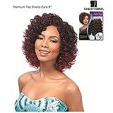 Sensationnel Euro Deep 3pcs 9' Shorty Premium Too Human Premium Blend Weaving Hair (1)