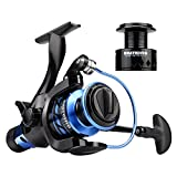 KastKing New Pontus Baitfeeder Spinning Reel for Live Lining Fishing 9+1 Ball Bearings Up to 26.5 Lbs/ 12 Kg Drag Review