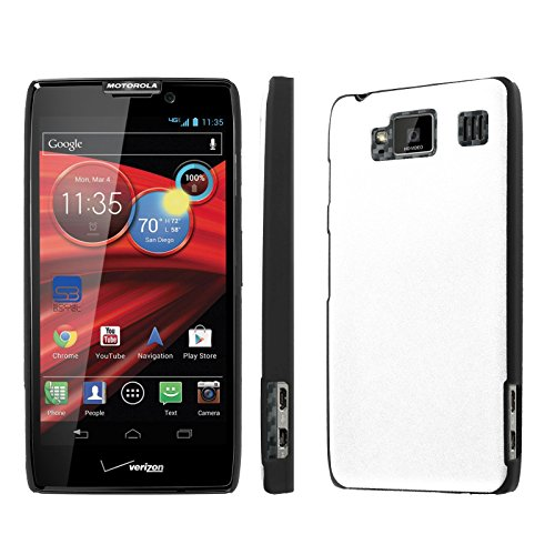 - NakedShield Motorola DROID RAZR HD XT926 (Milk White) SLIM Art Phone Cover Case