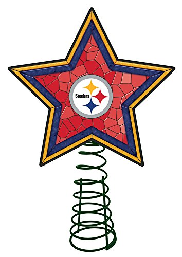 Pittsburgh Steelers Mosaic Tree (Pittsburgh Steelers Spiral)