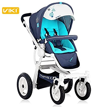 Fashion alta vista Baby Stroller, bidireccional & plegable ...