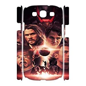 The Avengers YT7036493 3D Art Print Design Phone Back Case Customized Hard Shell Protection Samsung Galaxy S3 I9300