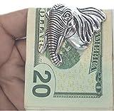 Money Clip Elephant Handmade Sterling Silver By OHANI