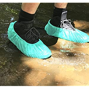 Disposable Shoe Covers By Topp Feet - Dirty Water