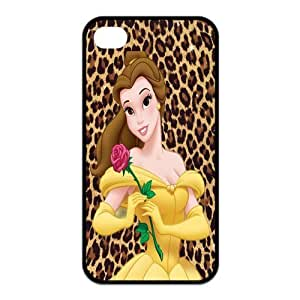 Mystic Zone Beauty and The Beast iPhone 4 Case for iPhone 4/4S Cover Classic Cartoon Fits Case KEK0498 by mcsharks