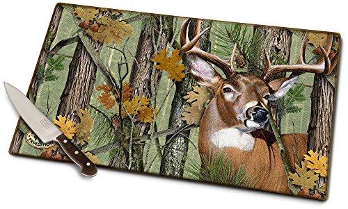 (Whitetail Deer Cutting Board)