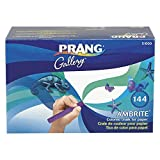 Prang Ambrite Paper Chalk, Tapered, Assorted Colors, 144 Count (51000)