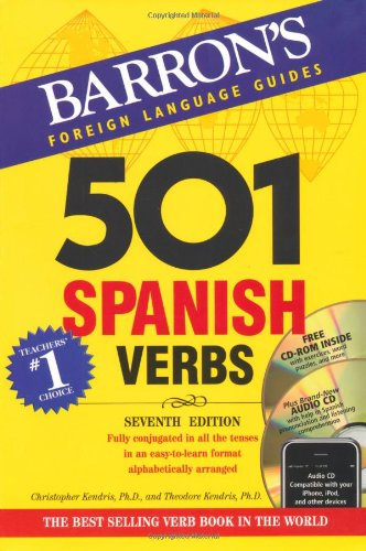 501 Spanish Verbs: 7th Ed W/CD ROM and Audio CD Pkg (501 Verbs)