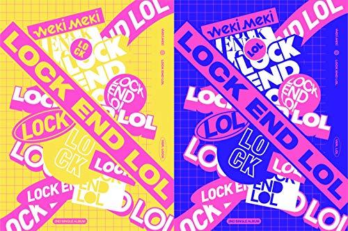 (Lock End LOL (Random Cover) (Incl. 80pg photo book, logo sticker, 2selfie photo cards + 1 weki meki ring))